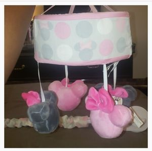 Minnie mouse crib mobile